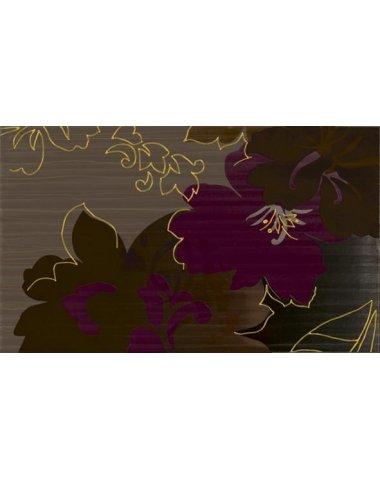 Delicate Декор Brown inserto A 30x50