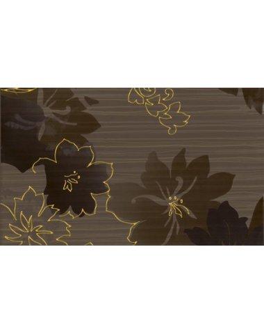 Delicate Декор Brown inserto B 30x50