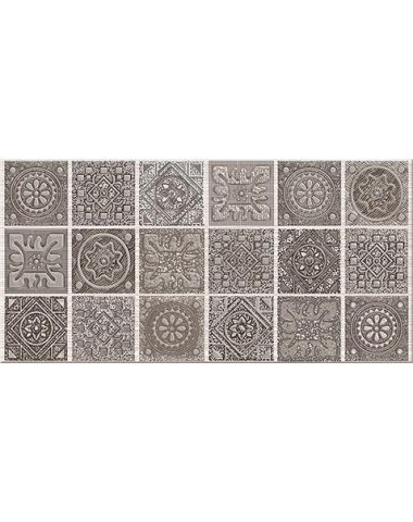 """Grazia Декор Mocca """"Nefertiti"""" 20,1х40,5"""