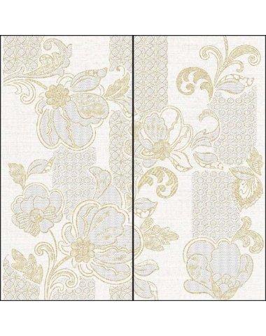 Illusio Панно Beige Pattern 63х63 (комплект из 2 пл.)