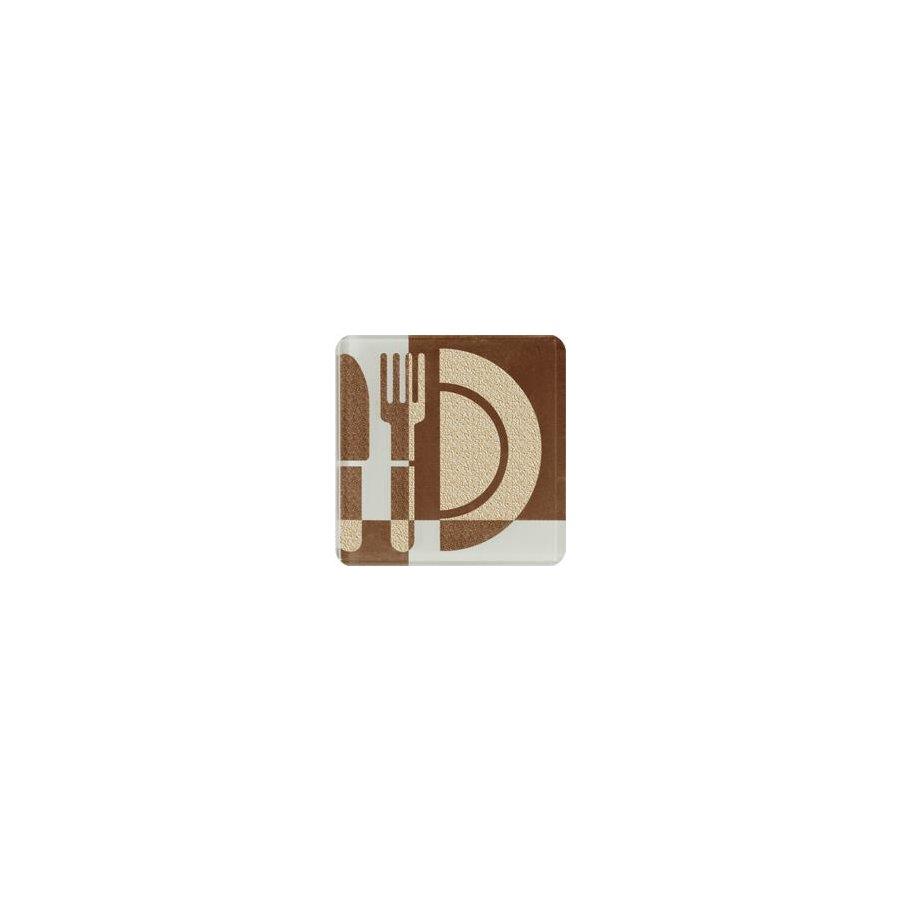 Toccata Brown B Декор 10x10