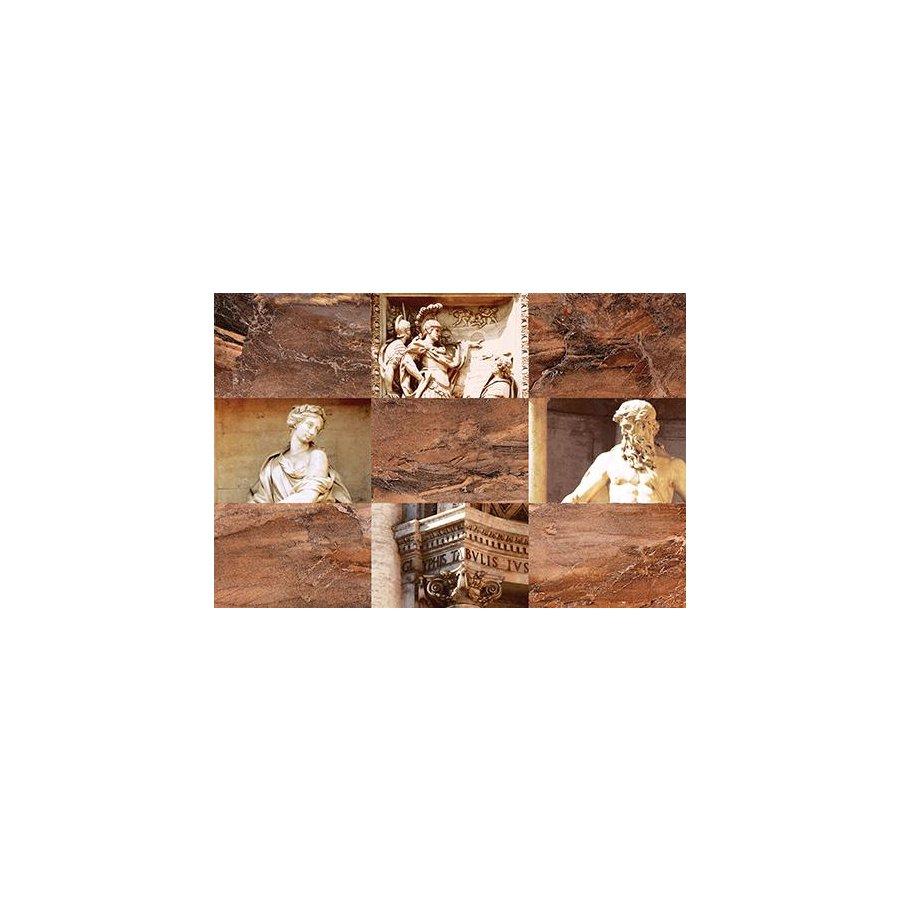 Trevi Декор коричневый (TY2N111D) 30x45