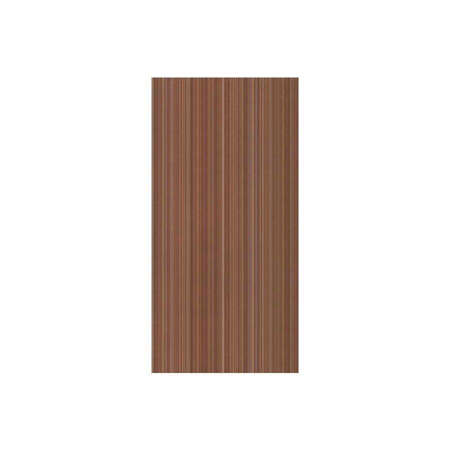 Жасмин на коричневом коричневая Плитка настенная 24,9х50