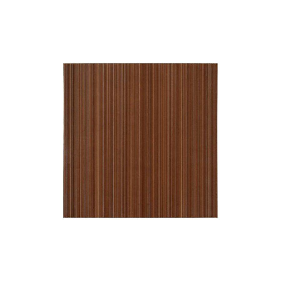 Жасмин на коричневом коричневая Плитка напольная 41,8х41,8