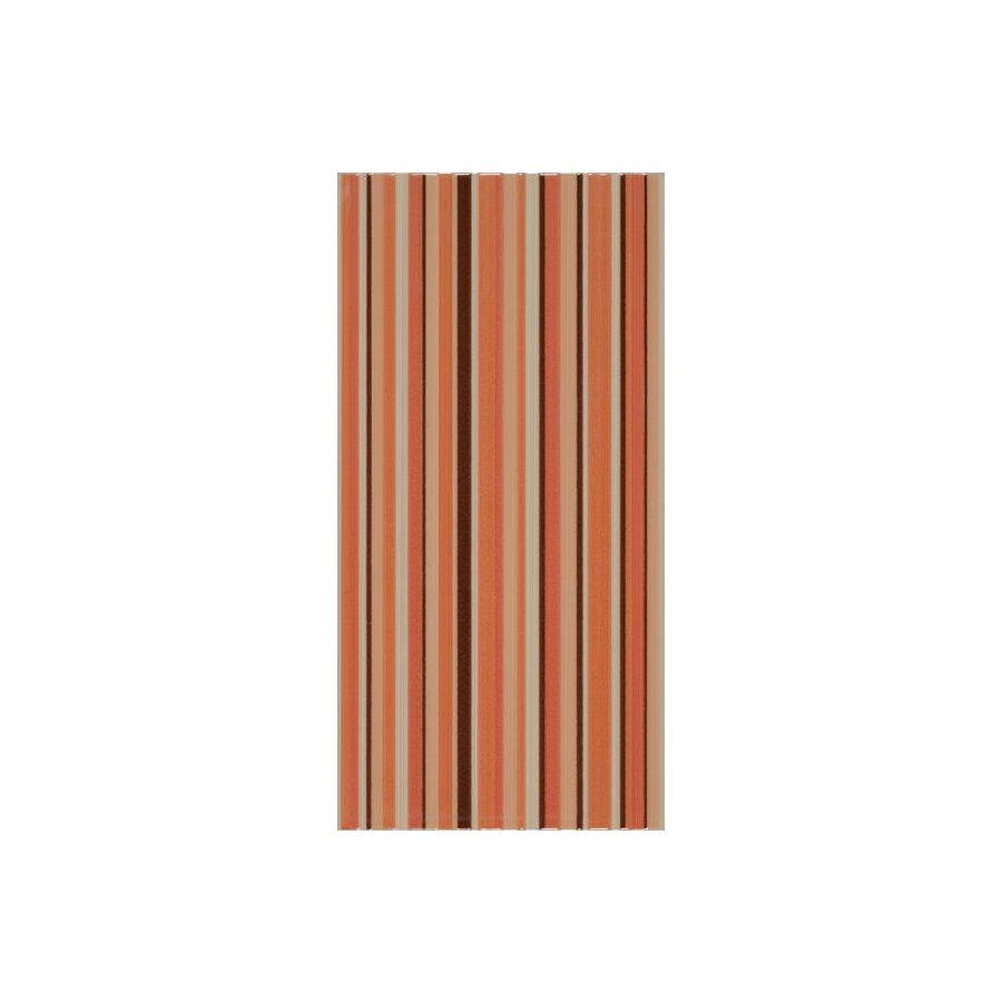 Жасмин на коричневом желтый Декор 24,9х50