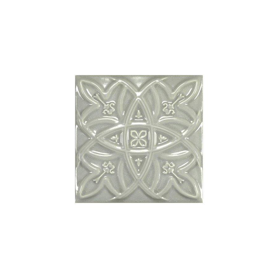 Antique Crackle Deco Relieve Greengreycrack Декор 150х150 мм/6шт