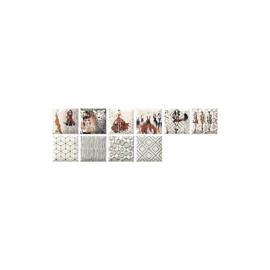 Caprice Fashion Decor плитка настенная 150х150 мм/63