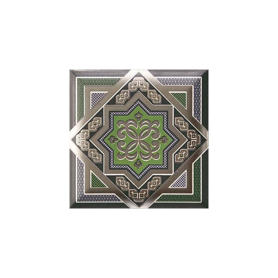 HD Effects Zoco Green Decor плитка настенная 150х150 мм/63