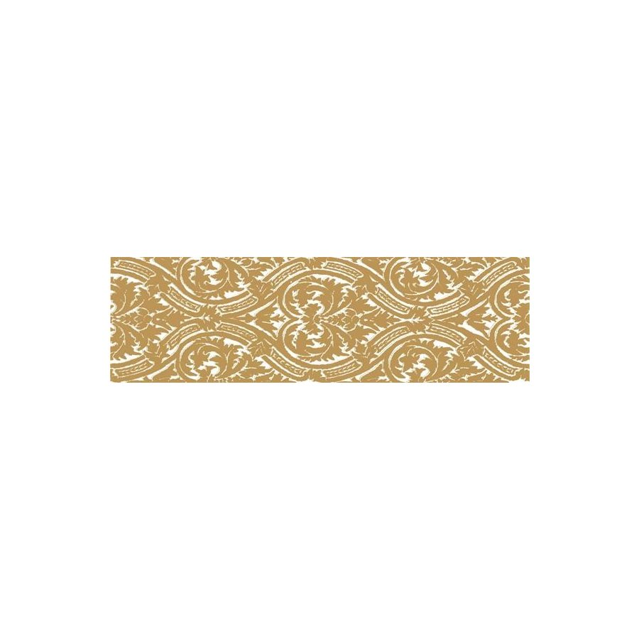 Delicate Бордюр Gold listwa Arabeska 15x50