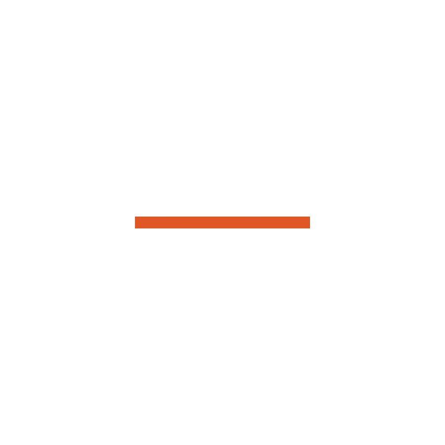 Monocolor Бордюр стеклянный Ral 2004 (оранжевый) 30х2