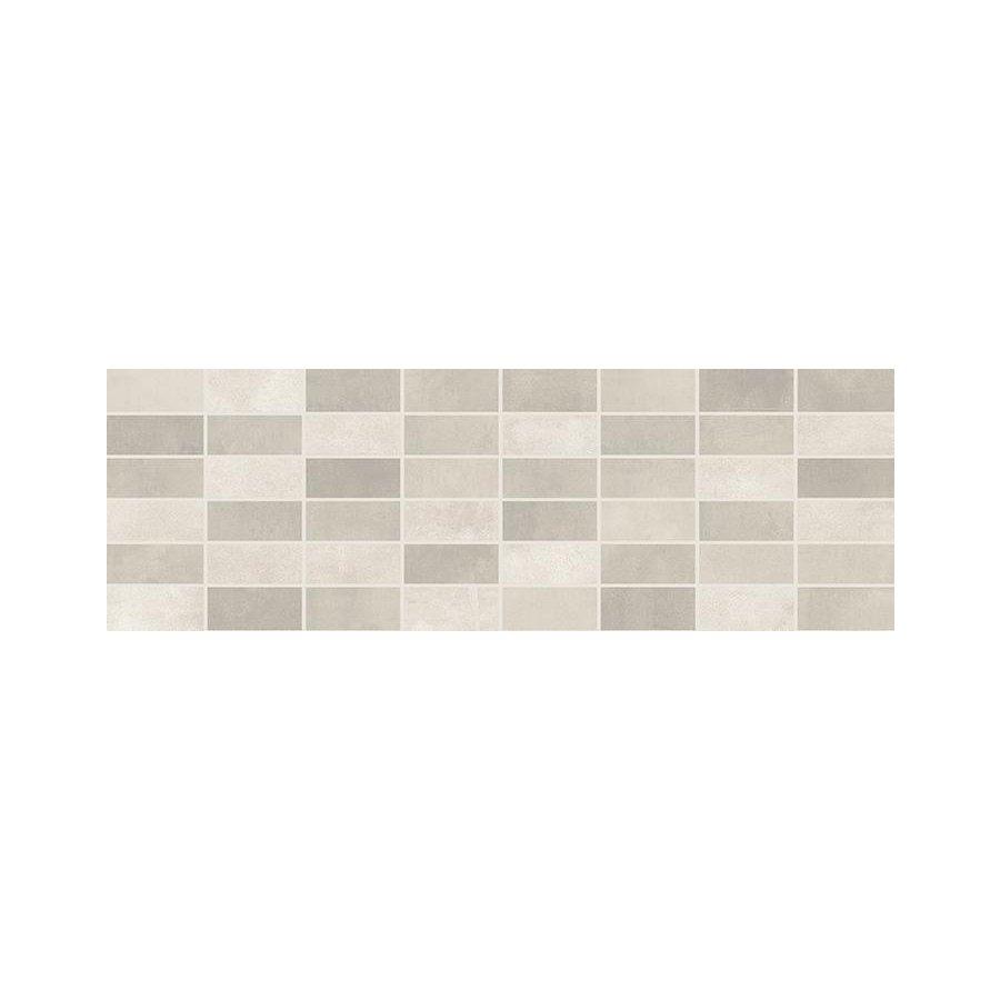 Fiori Grigio Декор мозаика светло-серая 1064-0047 / 20х60