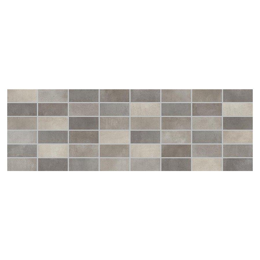 Fiori Grigio Декор мозаика темно-серая/1064-0103 20х60
