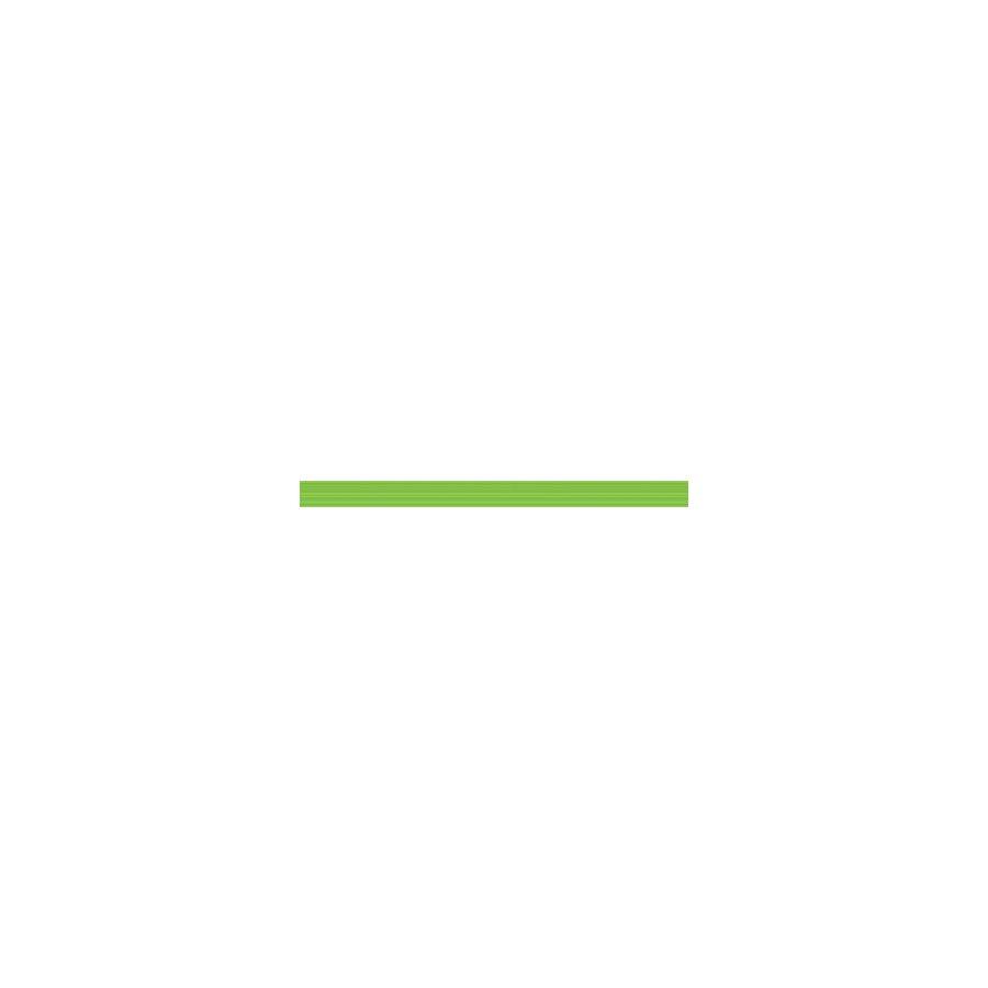 Line Бордюр стеклянный Green Strokes 30х2