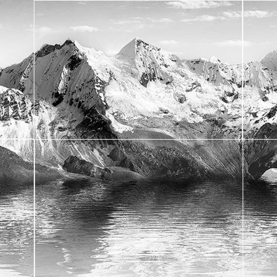Himalayas Панно из 6-ти плиток 90х40